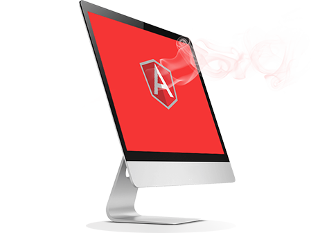 Angular Laptop Image