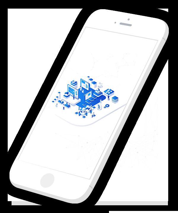 Blockchain Mobile App Integration Image