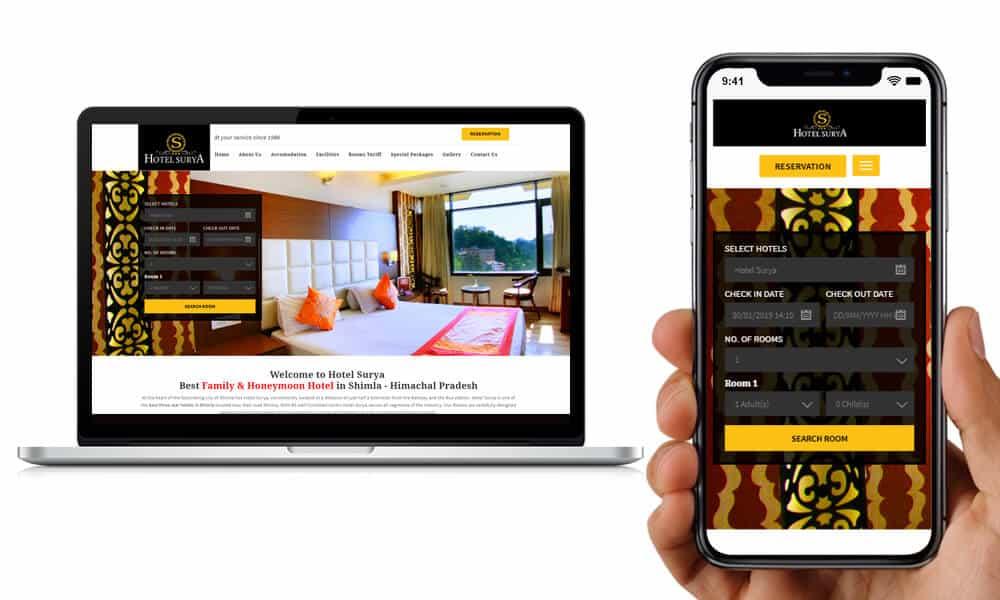 Hotel Surya Shimla